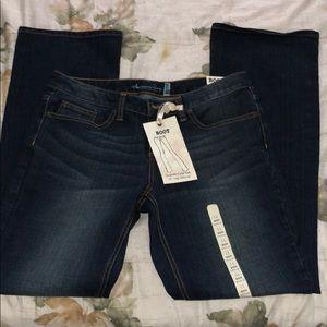American rag boot cut dark denim jeans